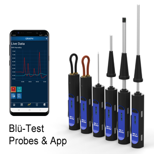Blü-Test Probes and App
