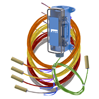 Concave Remote Probes with optional BAPI-Box 2 Enclosure