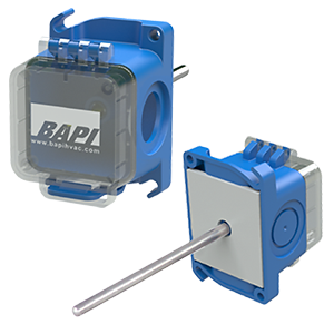 Duct Temperature Sensor with a BAPI-Box Crossover