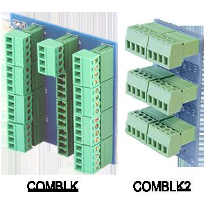 COMBLK & COMBLK2 - Communications Cable Terminal Blocks