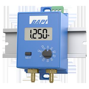 EZ Pressure Sensor Mounted on Din Rail