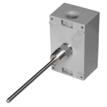 Immersion Sensor with Stainless Steel Fitting in a Weatherproof Enclosure