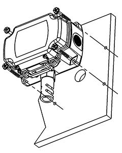 The BAPI-Box enclosure outside mounting