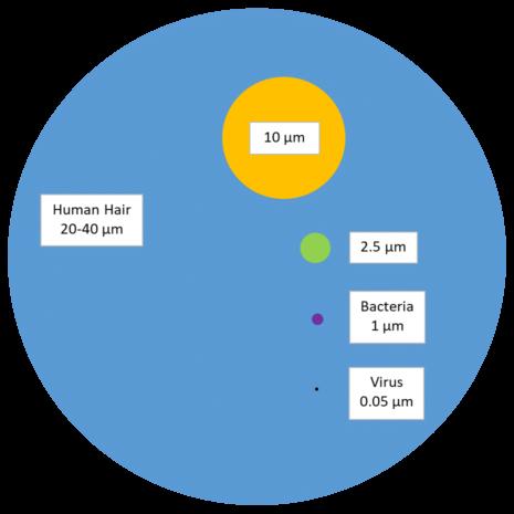 Particulate Matter Diagram