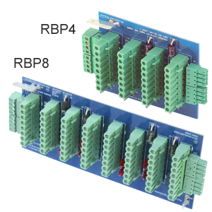 RBP4 and RBP8 Backplanes
