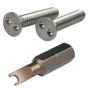 Spanner Screws and Spanner Bit