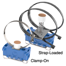 Strap Transmitters with BAPI-Box 2 Enclosure
