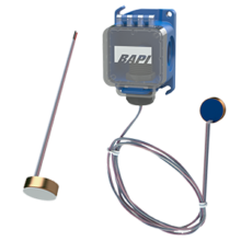 Surface Sensor alone and with a BAPI-Box Crossover Enclosure