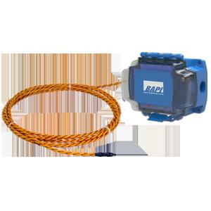 Water Leak Detector with Rope Sensor