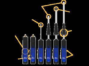 Blü-Test probe features