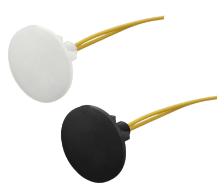 button sensor in black and white