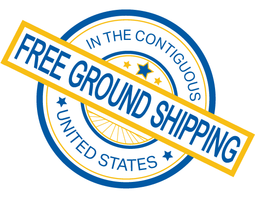 free ground shipping in the contiguous united states