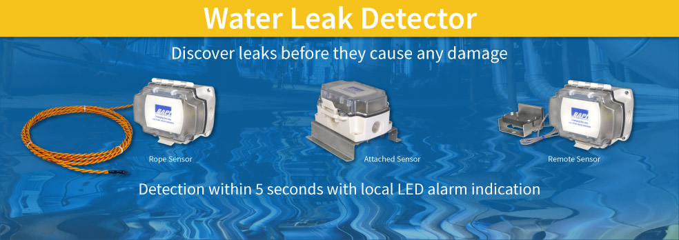 Discover leaks before they cause any damage
